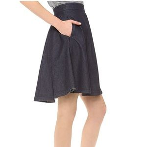 Diane von Furstenberg Denim Skirt